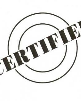 Certificeren